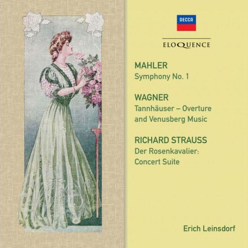 マーラー:交響曲第1番『巨人』、ワーグナー、R.シュトラウス エーリヒ・ラインスドルフ&ロイヤル・フィル、ロンドン交響楽団(2CD)