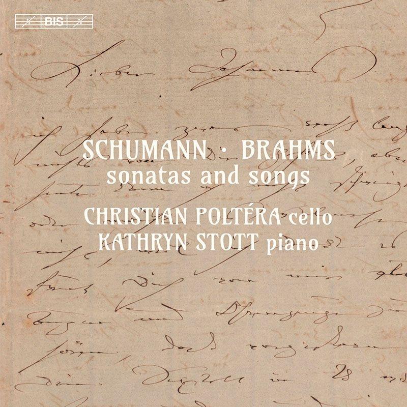 シューマン:ヴァイオリン・ソナタ第2番(チェロ版)、ブラームス:ヴァイオリン・ソナタ第3番(チェロ版)、他 クリスチャン・ポルテラ、キャサリン・ストット