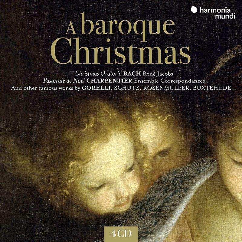 バロックのクリスマス〜バッハ:クリスマス・オラトリオ全曲(ヤーコプス指揮)、ブクステフーデ:カンタータ集(ユングヘーネル指揮)、他(4CD)