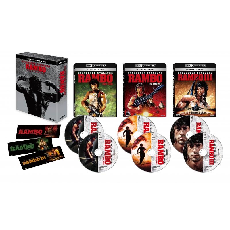 ランボー・トリロジー 4K Ultra HD Blu-ray BOX(6枚組)