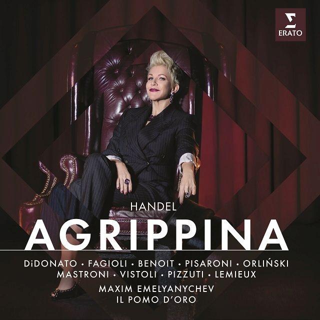 『アグリッピーナ』全曲 マクシム・エメリャニチェフ&イル・ポモ・ドーロ、ジョイス・ディドナート、フランコ・ファジョーリ、他(2019 ステレオ)(3CD)