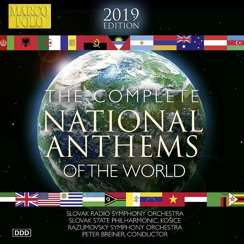 世界の国歌 2019 ピーター・ブレイナー(編曲、指揮)(10CD)