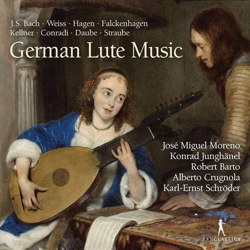 ドイツのリュート音楽 ホセ・ミゲル・モレーノ、アルベルト・クルニョーラ、コンラート・ユングヘーネル、他(12CD)