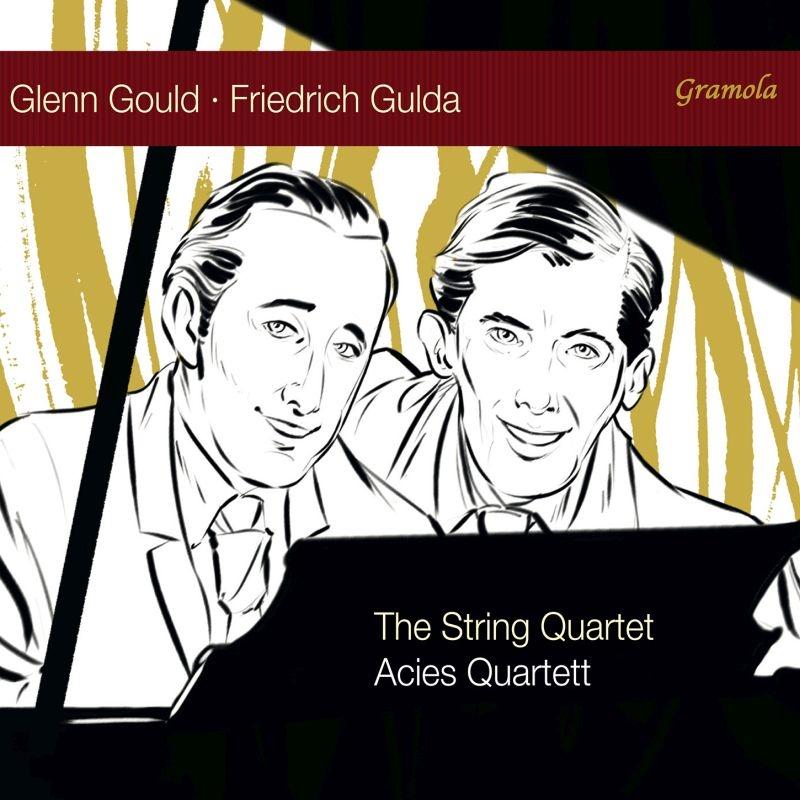グールド:弦楽四重奏曲、グルダ:弦楽四重奏のための音楽 アーツィエス四重奏団