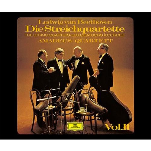 弦楽四重奏曲第11番〜第16番、大フーガ、ピアノ四重奏曲第1番〜第3番 アマデウス四重奏団、クリストフ・エッシェンバッハ(3SACDシングルレイヤー)