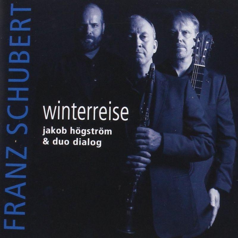 『冬の旅』 ヤコブ・ヘングストレム(バリトン)、デュオ・ダイアログ(ギター&クラリネット)