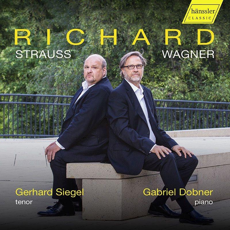 R.シュトラウス:歌曲集、ワーグナー:ヴェーゼンドンク歌曲集 ゲルハルト・ジーゲル、ガブリエル・ドブナー