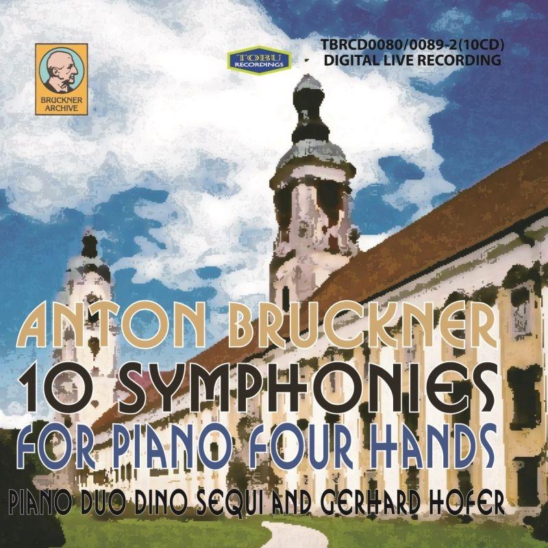 4手ピアノによる交響曲全集〜第0番〜第9番 ピアノ・デュオ・ディノ・セクイ&ゲルハルト・ホッファー(10CD)