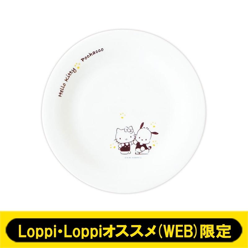 プレート皿 ハローキティ ポチャッコ 【Loppi・Loppiオススメ(WEB)限定】