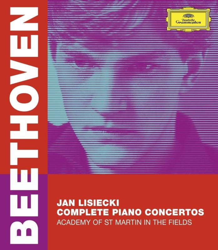ピアノ協奏曲全集 ヤン・リシエツキ、アカデミー・オブ・セント・マーティン・イン・ザ・フィールズ