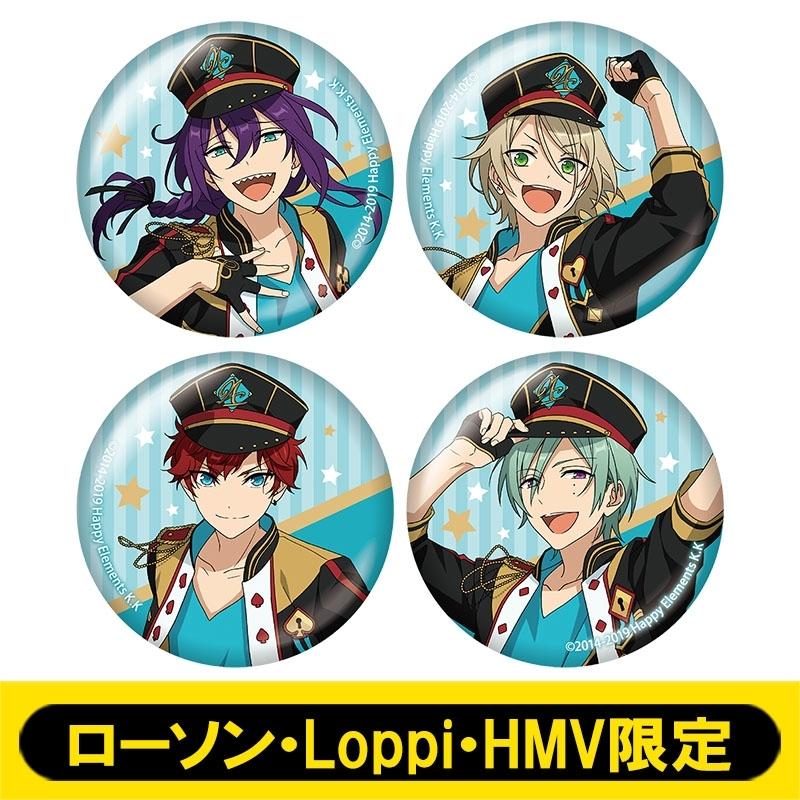 缶バッジ4個セット (ALKALOID)【ローソン・Loppi・HMV限定】