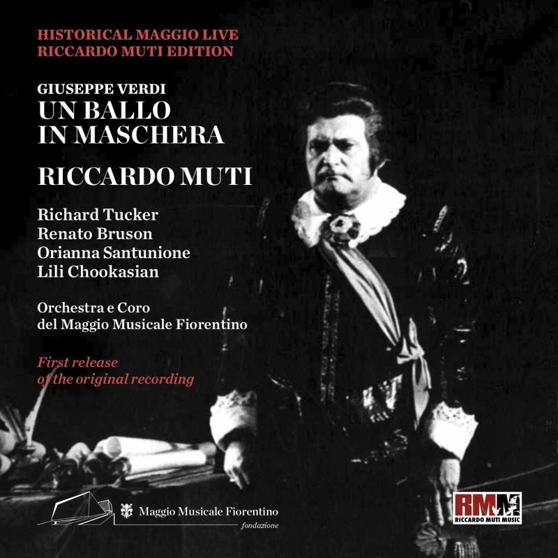『仮面舞踏会』全曲 リッカルド・ムーティ&フィレンツェ五月祭、リチャード・タッカー、レナート・ブルゾン、他(1974 モノラル)(2CD)