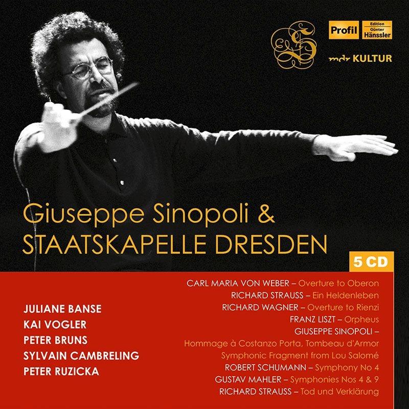 ジュゼッペ・シノーポリ&シュターツカペレ・ドレスデン ライヴ集 1997〜1999(5CD)