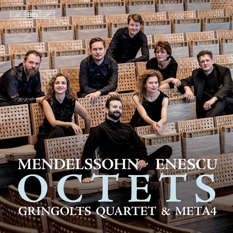 メンデルスゾーン:弦楽八重奏曲、エネスコ:弦楽八重奏曲 グリンゴルツ・クヮルテット、META4