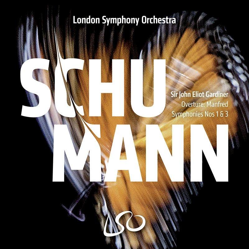 交響曲第1番『春』、第3番『ライン』、『マンフレッド』序曲 ジョン・エリオット・ガーディナー&ロンドン交響楽団