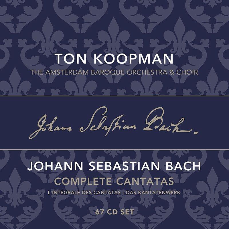 カンタータ全集 トン・コープマン&アムステルダム・バロック管弦楽団&合唱団(67CD)