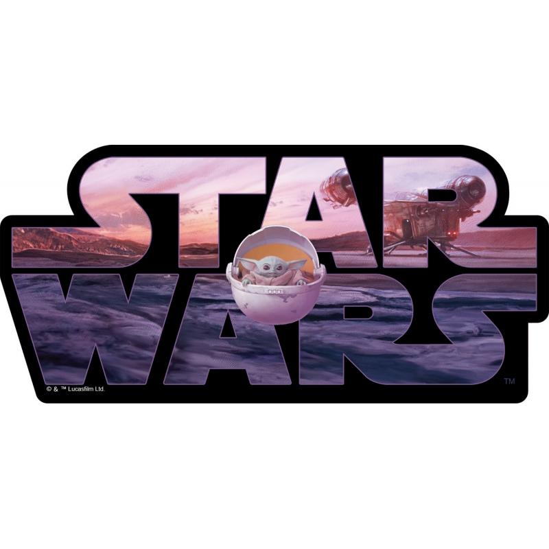 ダイカットステッカーc / Star Wars マンダロリアン