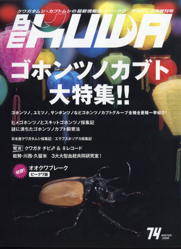 BE-KUWA (ビー クワ)月刊 むし 2020年 3月号増刊