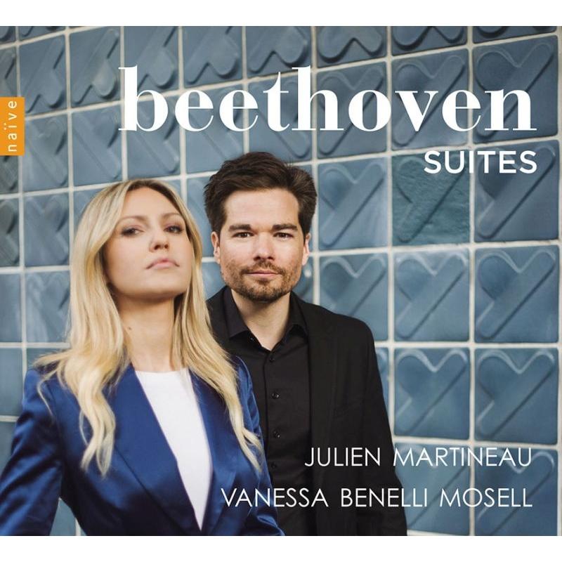 組曲集〜マンドリンによるベートーヴェン〜交響曲第7番の第2楽章、他 ジュリアン・マルティノー、ヴァネッサ・ベネッリ・モゼッル、他