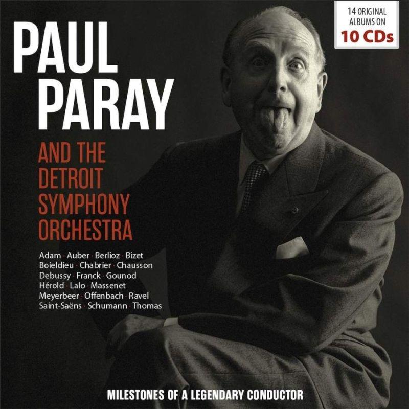 ポール・パレー&デトロイト交響楽団 名演集(10CD)