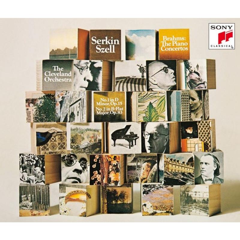 Brahms Piano Concertos Nos.1, 2, Mozart Piano Concertos Nos.19, 20 : Rudolf Serkin(P)George Szell / Cleveland Orchestra, Columbia So (2SACD)(Hybrid)