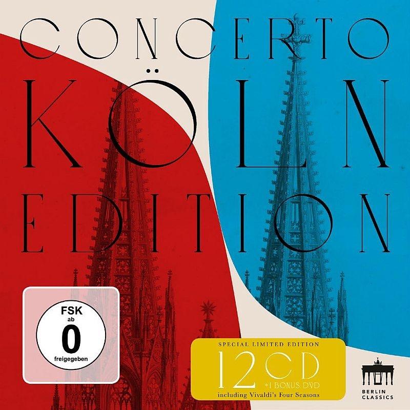 コンチェルト・ケルン・エディション〜ベルリン・クラシックス録音集 2007〜2017(12CD+DVD)