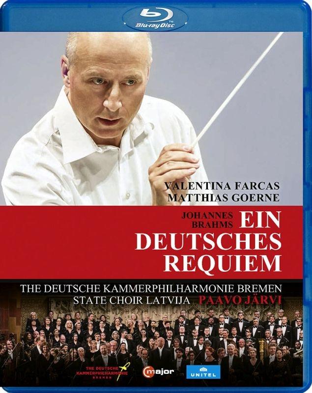 Ein deutsches Requiem : Paavo Jarvi / Deutsche Kammerphilharmonie, Matthias Goerne, Valentina Farcas