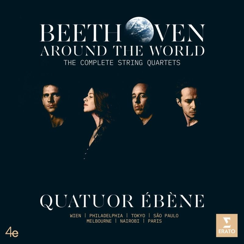 Beethoven Around the World -The Complete String Quartets : Quatuor Ebene (7CD)