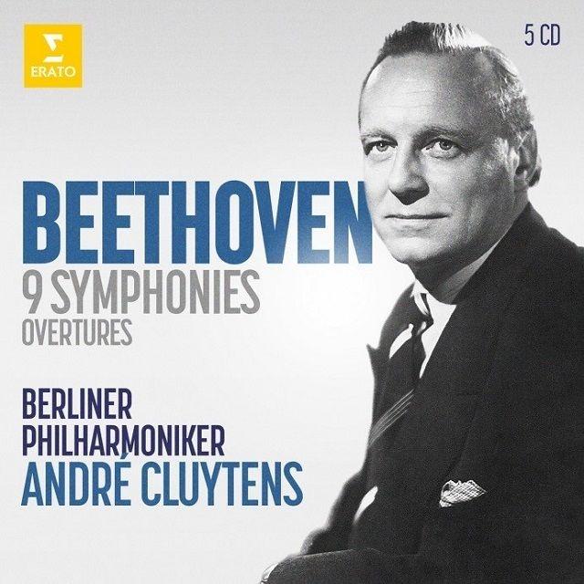 交響曲全集、序曲集 アンドレ・クリュイタンス&ベルリン・フィル(5CD)