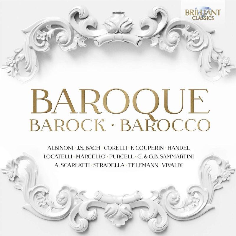 バロック協奏曲、管弦楽曲集〜アルビノーニ、バッハ、ヘンデル、ヴィヴァルディ、他(25CD)