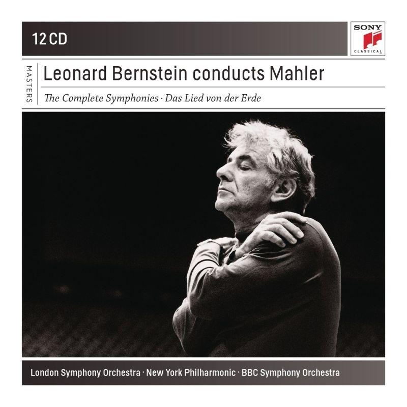 交響曲全集(第1番〜第9番、第10番アダージョ、大地の歌) レナード・バーンスタイン&ニューヨーク・フィル、ロンドン響、イスラエル・フィル(12CD)