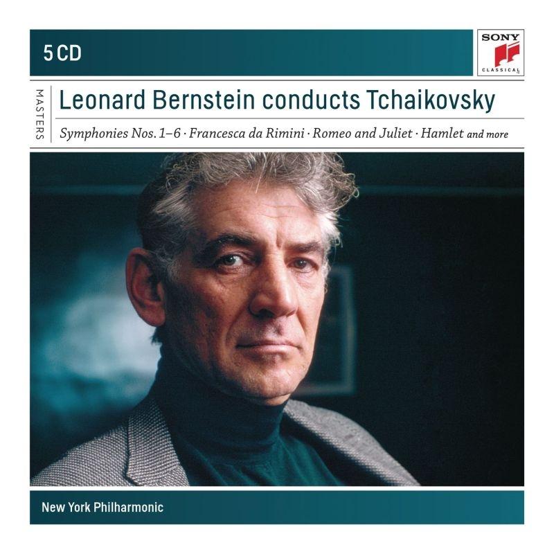 交響曲全集、管弦楽曲集 レナード・バーンスタイン&ニューヨーク・フィル(5CD)