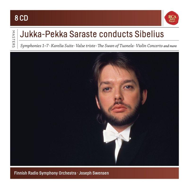 交響曲全集、管弦楽曲集 ユッカ=ペッカ・サラステ&フィンランド放送交響楽団、ジョセフ・スウェンセン(8CD)