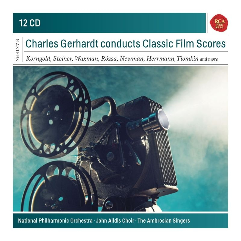 チャールズ・ゲルハルト コンダクツ・クラシック・フィルム・スコア(12CD)