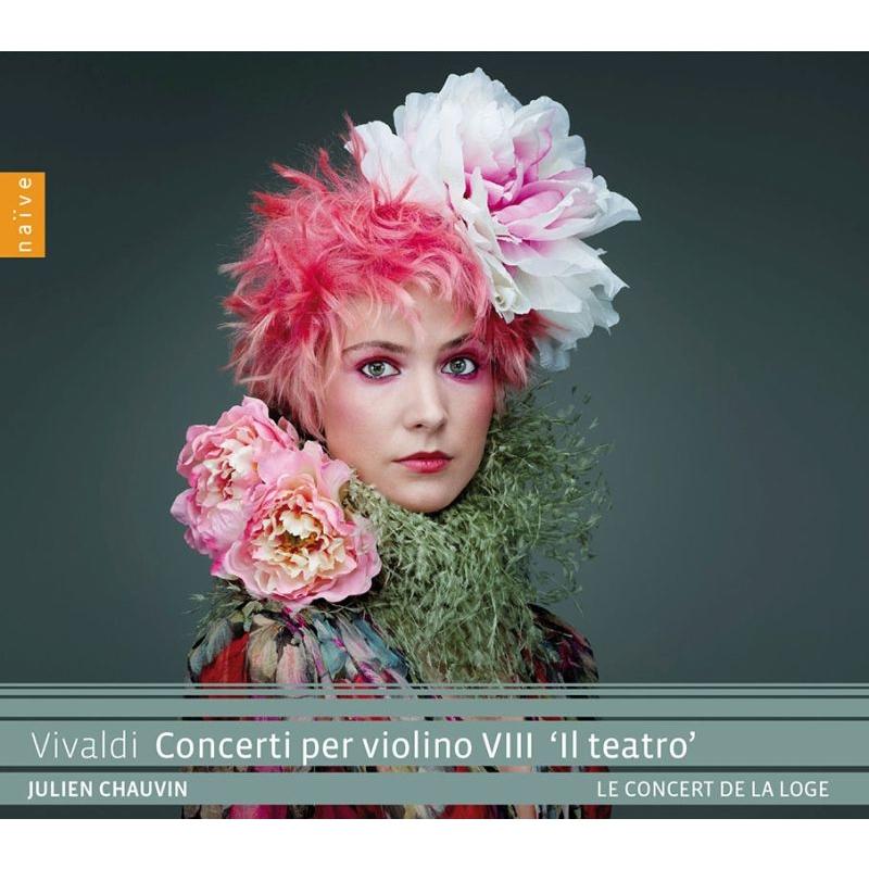 Violin Concerto -Il Teatro : Julien Chauvin(Vn)/ Le Concert de la Loge
