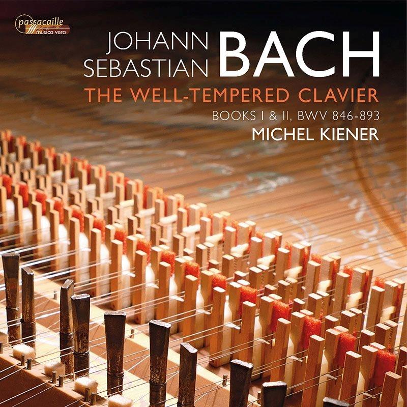 平均律クラヴィーア曲集 全曲 マイケル・キーナー(チェンバロ)(4CD)