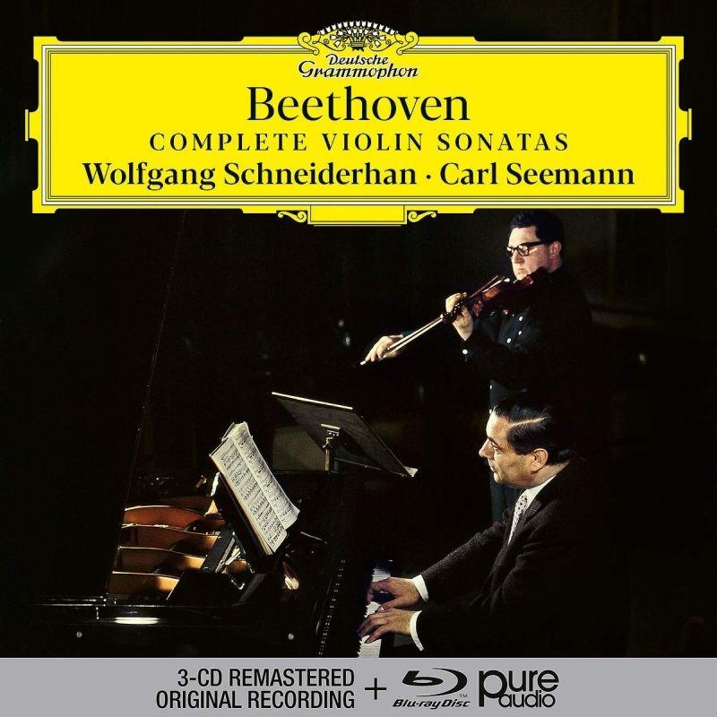 ヴァイオリン・ソナタ全集 ヴォルフガング・シュナイダーハン、カール・ゼーマン(3CD+ブルーレイ・オーディオ)