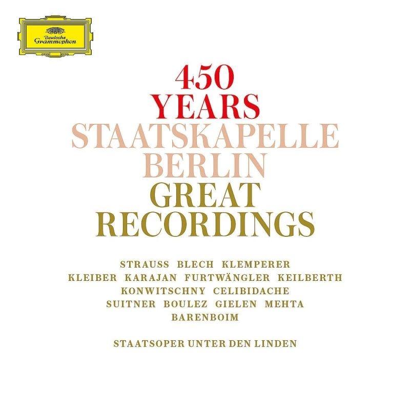 シュターツカペレ・ベルリン 創立450周年記念 グレート・レコーディングズ(15CD)
