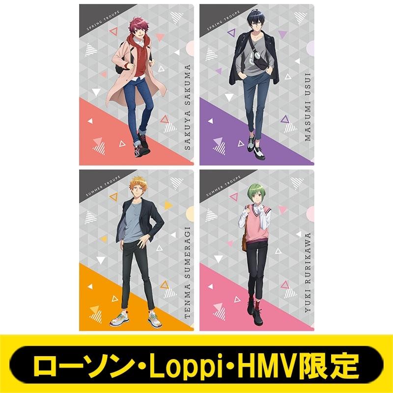 A4クリアファイル4枚セット【ローソン・Loppi・HMV限定】