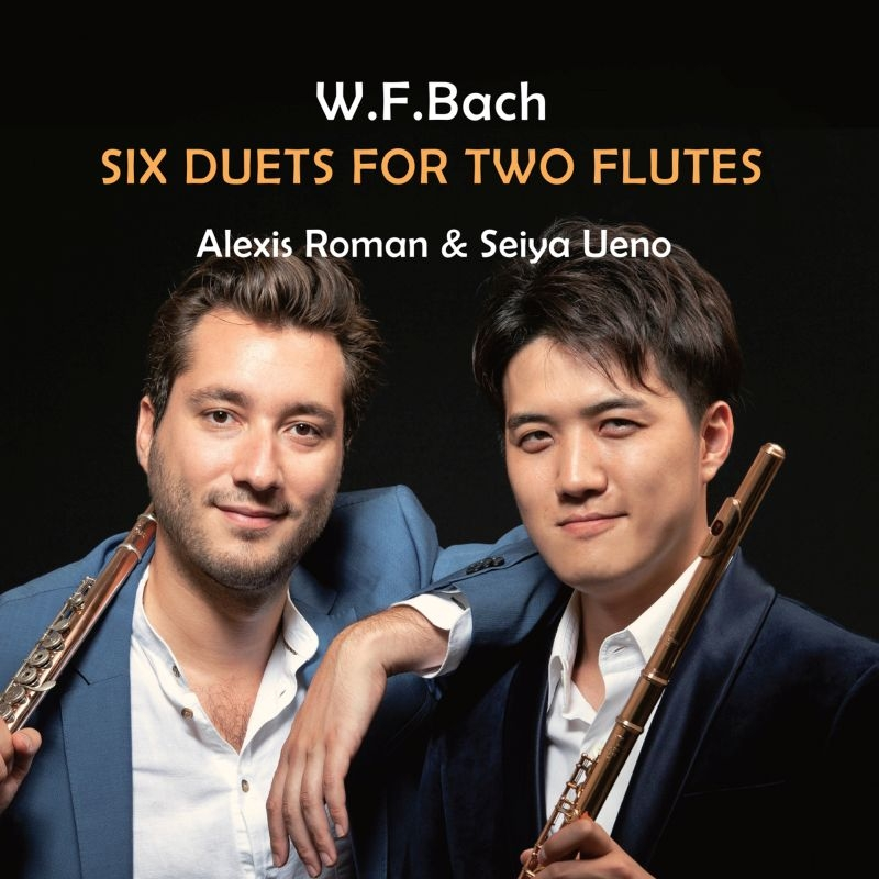 2本のフルートのための二重奏曲集 上野星矢、アレキシ・ロマン