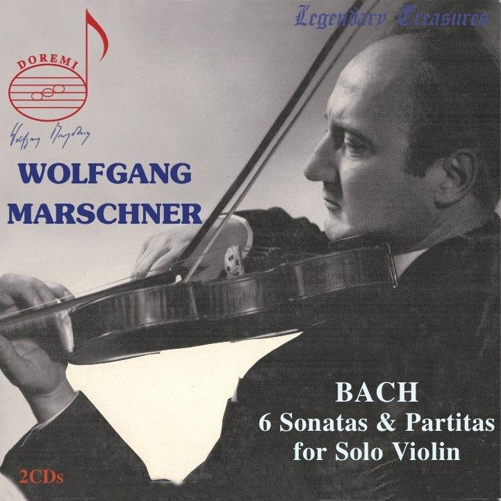 無伴奏ヴァイオリンのためのソナタとパルティータ 全曲 ヴォルフガング・マルシュナー(2CD)