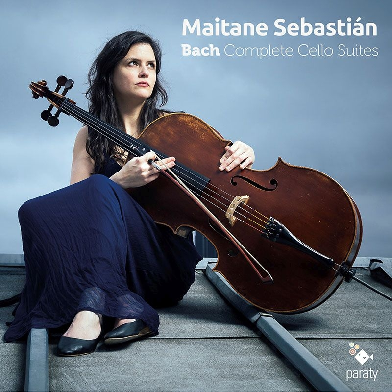 無伴奏チェロ組曲 全曲 メイタヌ・セバスティアン(2CD)