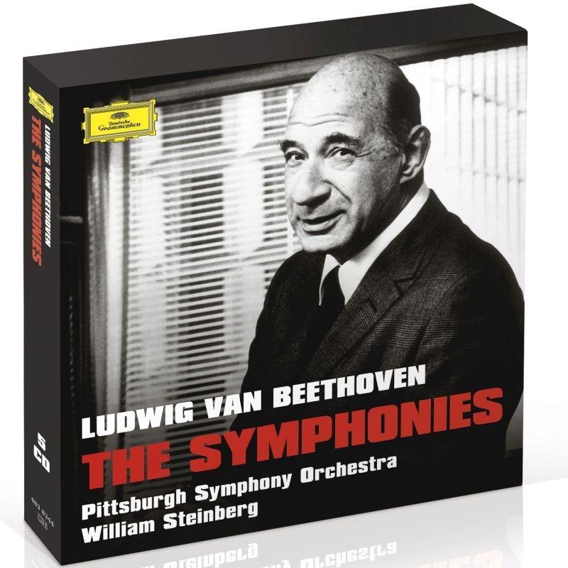 交響曲全集 ウィリアム・スタインバーグ&ピッツバーグ交響楽団(5CD)