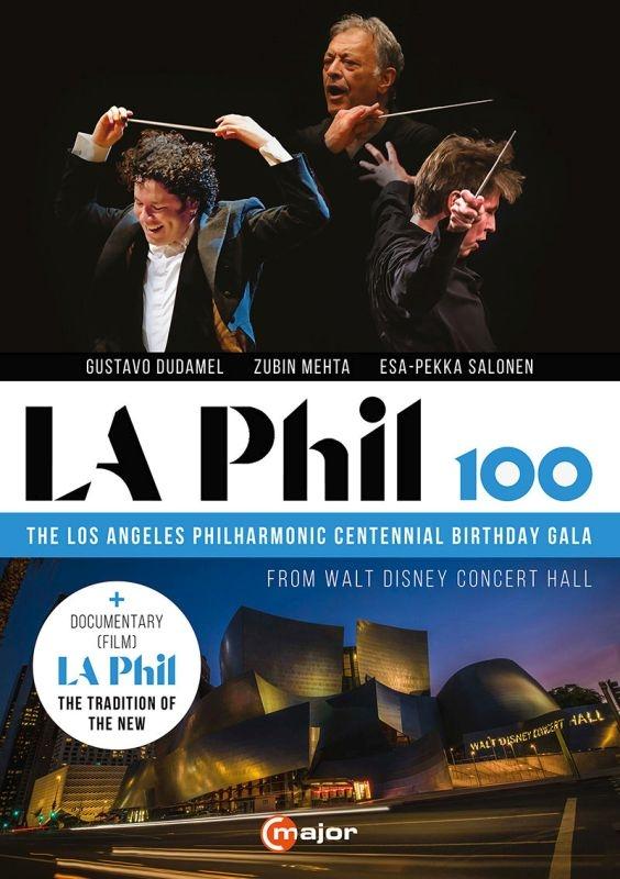 ロス・フィル創立100周年ガラ・コンサート ロサンジェルス・フィル、グスターヴォ・ドゥダメル、ズービン・メータ、エサ=ペッカ・サロネン(2DVD)
