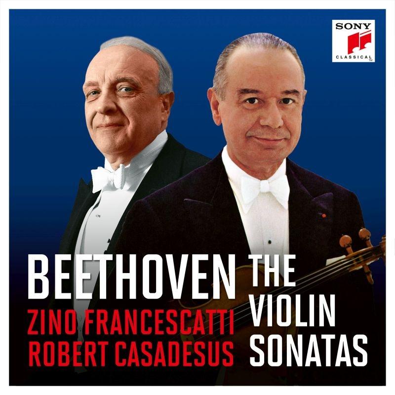 ヴァイオリン・ソナタ全録音 ジノ・フランチェスカッティ、ロベール・カサドシュ(7CD)