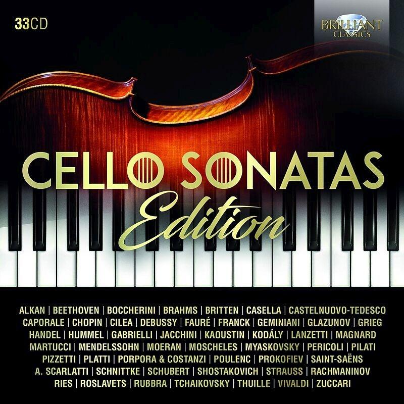 Cello Sonatas Edition (33CD)