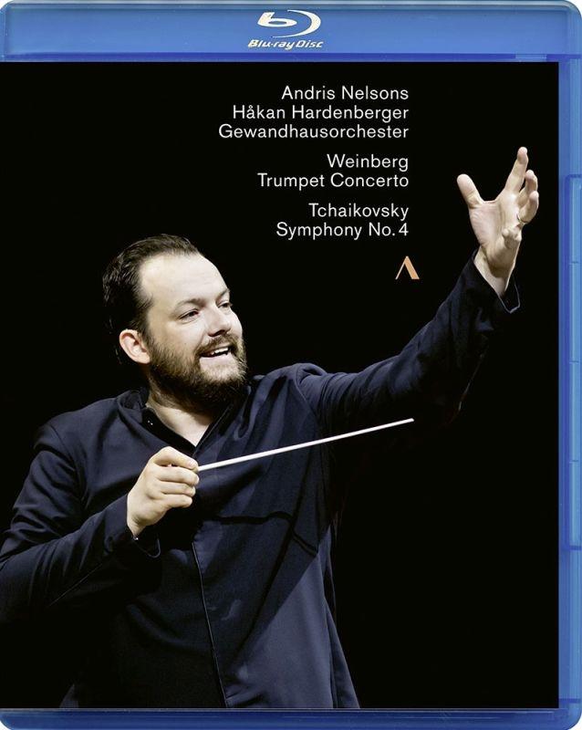 チャイコフスキー:交響曲第4番、ヴァインベルグ:トランペット協奏曲、他 アンドリス・ネルソンス&ゲヴァントハウス管弦楽団、ハーデンベルガー(日本語解説付)