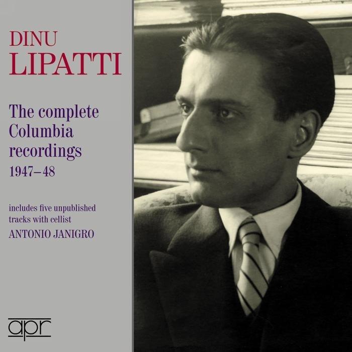 ディヌ・リパッティ/コロンビア録音全集 1947〜1948(2CD)