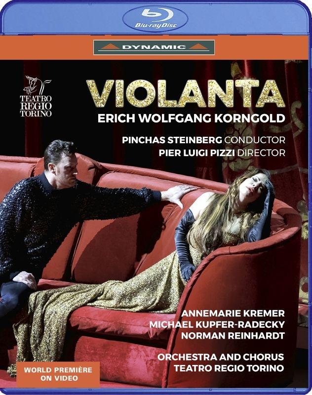 歌劇『ヴィオランタ』全曲 ピッツィ演出、P.スタインバーグ&トリノ・レッジョ劇場、A.クレーマー、N.ラインハルト、他(2020 ステレオ)(日本語字幕・解説付)