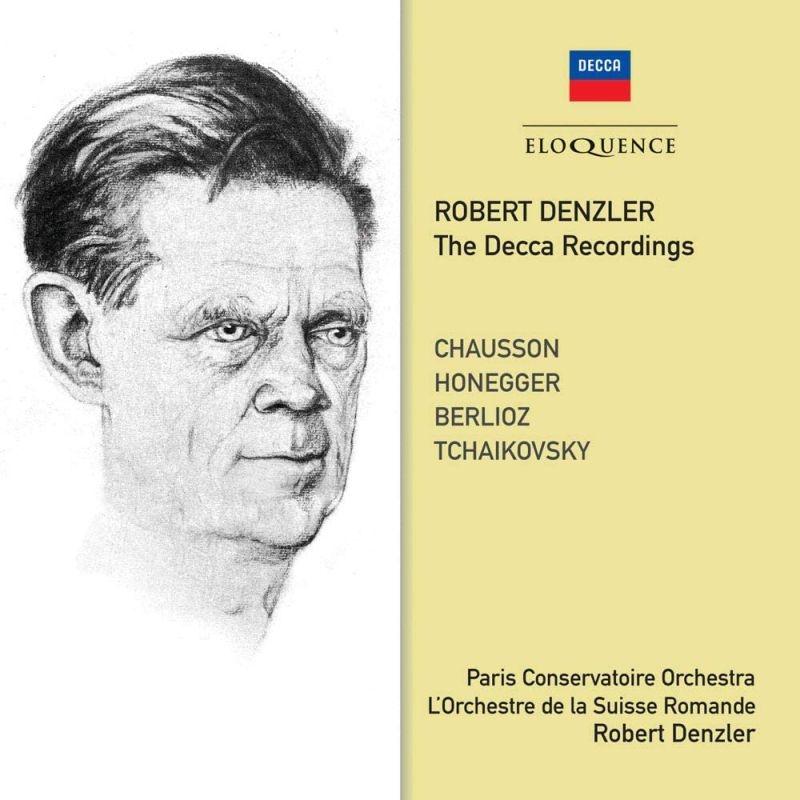 ショーソン:交響曲、オネゲル:典礼風、チャイコフスキー:交響曲第4番、他 ローベルト・デンツラー&パリ音楽院管弦楽団、スイス・ロマンド管弦楽団(2CD)